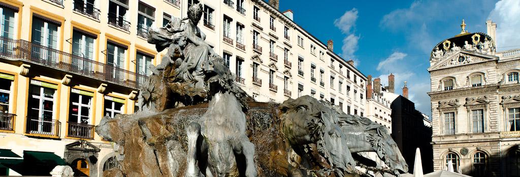 fontaine bartholdi lyon