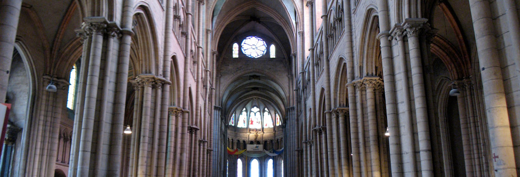intérieur cathédrale saint-jean lyon