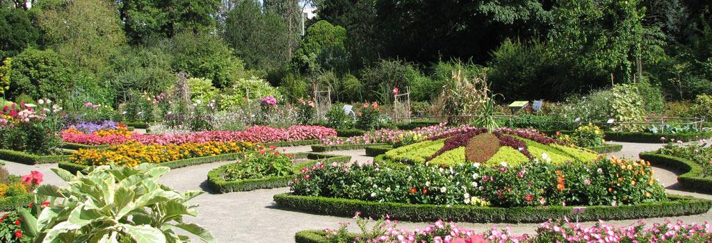jardin botanique parc tête d'or