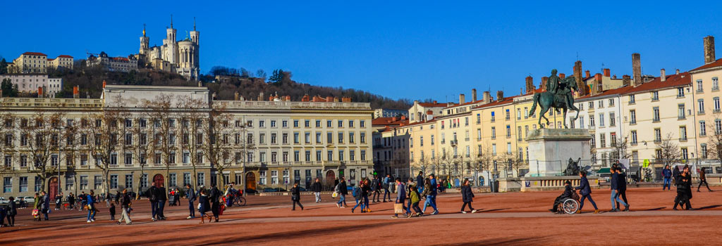 visite place bellecour lyon
